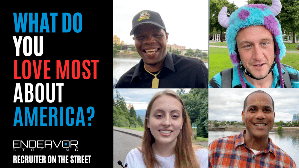 Asking Random people what do you love most about America